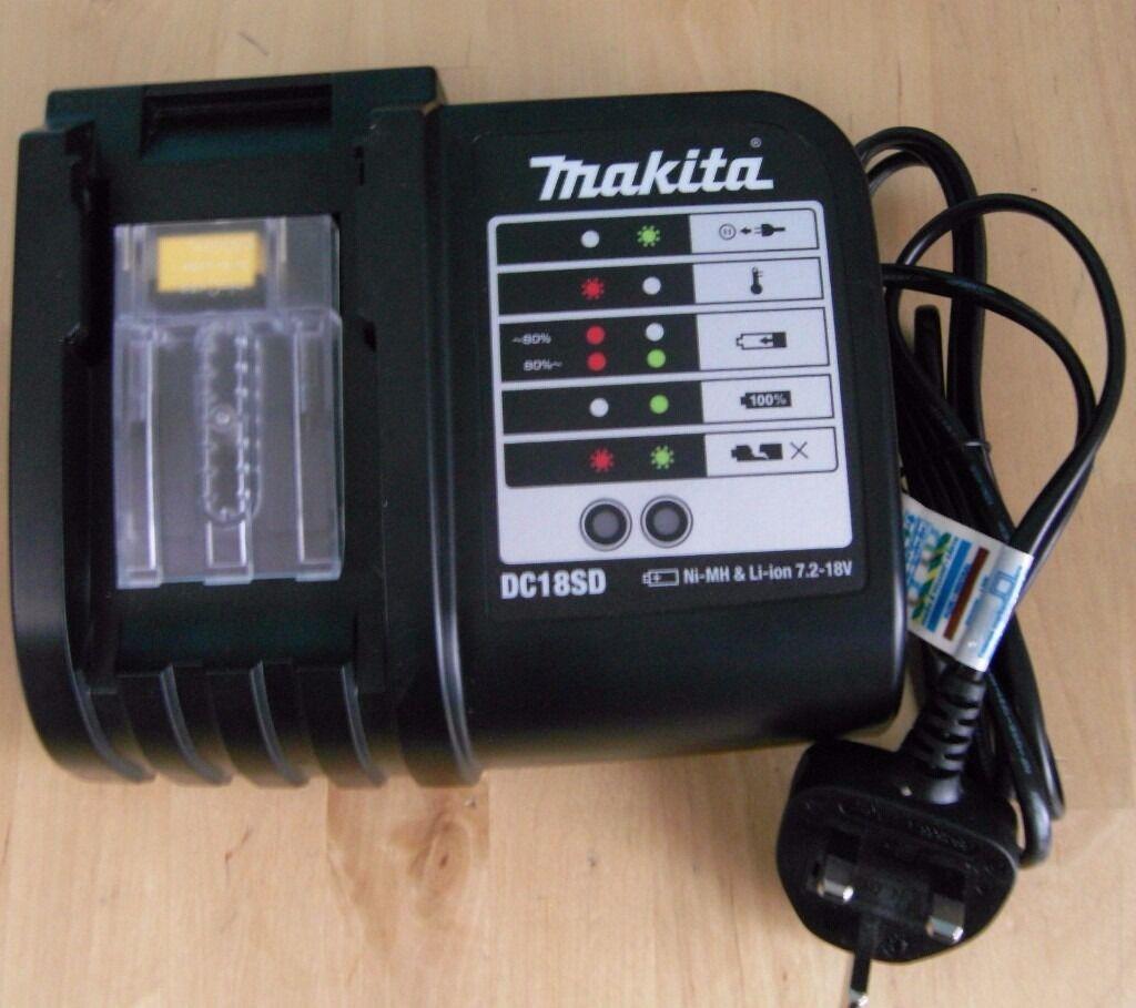 Makita DC18SD LXT Battery Charger 18v Li-ion 240v sale Limited 2017