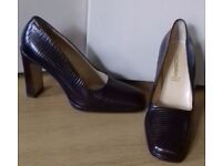 Brand New Retro-Style Shoes designed Marilyn Anselm for Hobbs - Size 38.5 (UK 5 1/2)