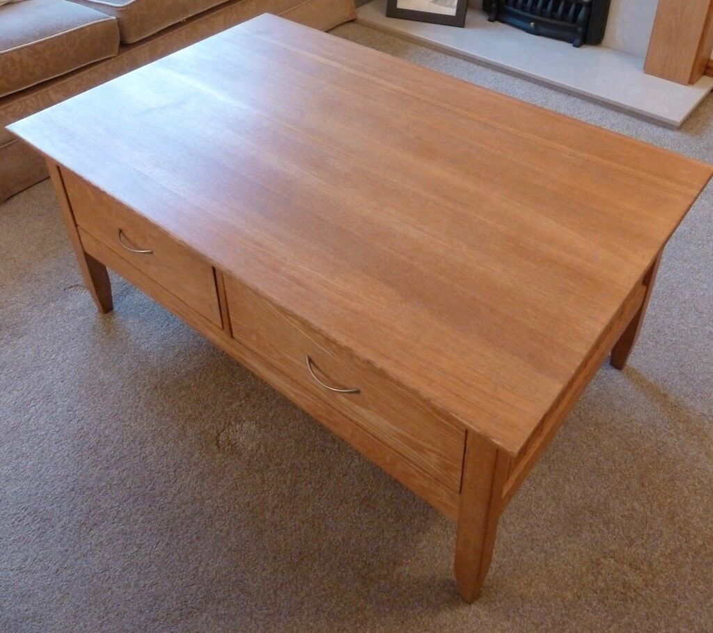 Laura Ashley Oak Coffee Table In Charlton Kings Gloucestershire Gumtree