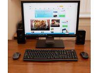"""Dell Inspiron 3847 Pc System + 22"""" Dell Ultrasharp 2209wa Monitor"""