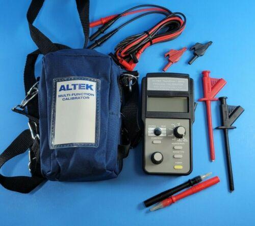 ALTEK TechChek 820 Process Calibrator, Excellent, Case