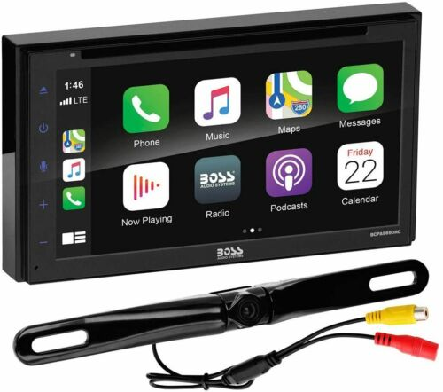 "Boss BCPA9690RC 6.75"" 2-DIN Apple CarPlay Android Auto DVD/CD/MP3 Receiver"