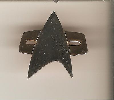 STAR TREK  Enamel Metall  DS9 Voyager Communicator  Mini Pin Anstecker Cosplay
