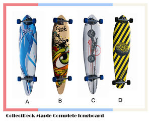 CollectDeck-Skateboard-Maple-Complete-classic-pintail-longboard-41-x-9