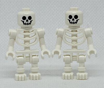 NEW LEGO Skeleton Pair Skeletons Halloween GENUINE Minifigure Mini Figure
