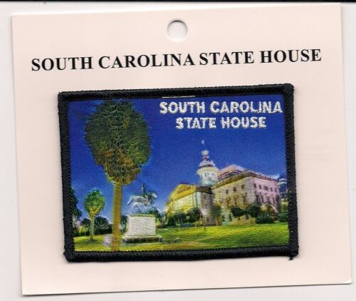 South Carolina State House Columbia South Carolina Souvenir Patch