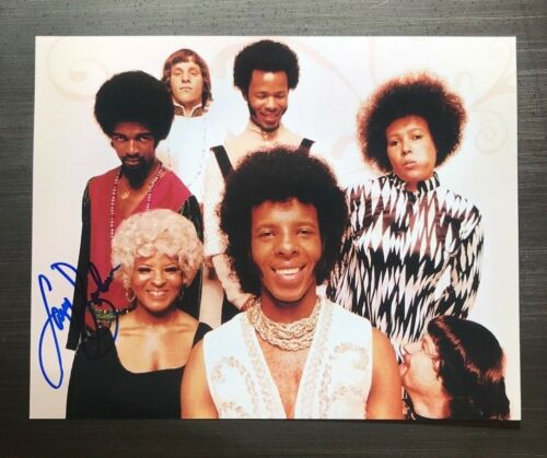 * LARRY GRAHAM * signed autographed 11x14 photo * SLY & THE FAMILY STONE * 5