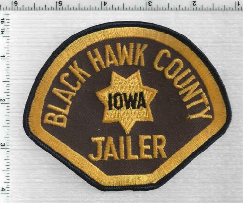Black Hawk County Jailer  (Iowa) 1st Issue Shoulder Patch