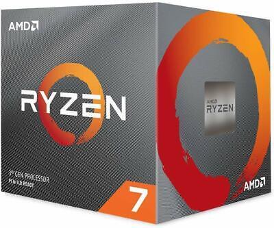 AMD Ryzen 7 3700X 8-Core, 16-Thread Unlocked Desktop Processor with LED Cooler