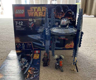 Lego Star Wars 75041 VULTURE DROID 100% Complete Boxed