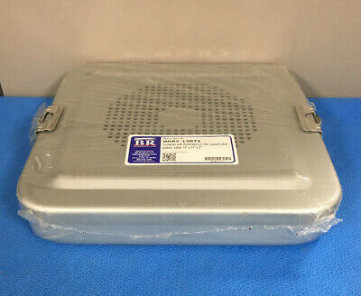 Br Surgical Br82-13071 Container Wperforated Lid Flat 11 X 11 X 2 - 1 Ea