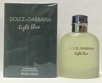 Dolce & Gabbana Light Blue 4.2oz Men's Eau de Toilette Spray New
