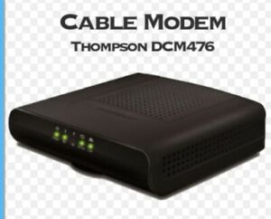 CABLE MODEM CERTIFIED THOMPSON DCM475