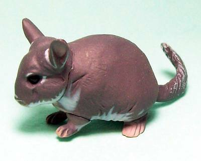Kaiyodo Choco Q Animatales Pet animals Part 4 Violet Chinchilla US seller new