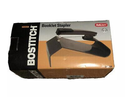 Bostitch No-jam Booklet Stapler Black B440sb Note