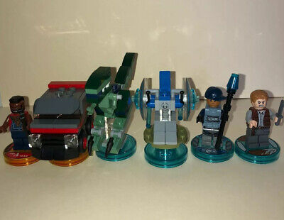 Lego dimensions jurassic world And A Team Pack