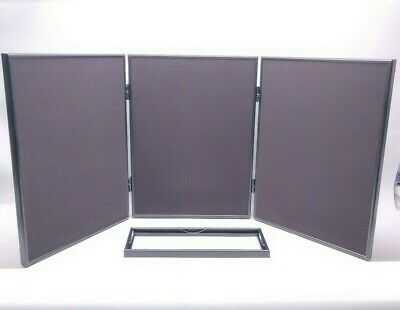 Pharmakon Multi-position 3 Panel Header Case Approx 54 X 20 Folding Display