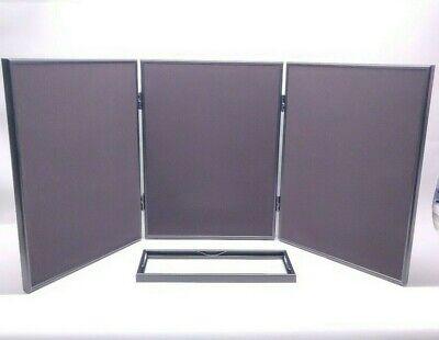 Pharmakon Multi-position 3 Panel Header Case Approx 54 X 20 Folding Display