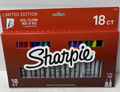 Sharpie Ultrafine 18 Count Permanent Markers Multicolor