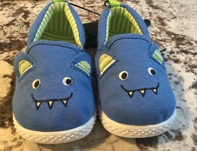 NWT BABY BOY MONSTER SHOES SIZE 3