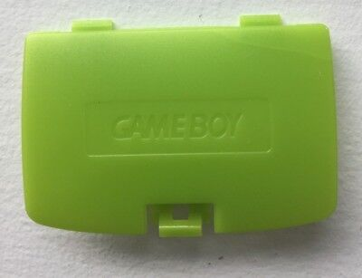 (New Kiwi Lime Green Battery Cover Game Boy Color System - GBC Replacement Door)