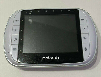 Motorola MBP33XLPU Video Baby Monitor Parent UNIT ONLY - NO Battery