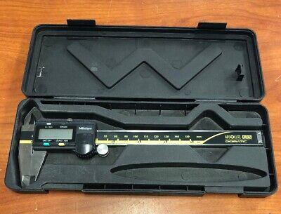 Mitutoyo Digital Absolute Calipers Used 6 Inch 500-196-30 Cd-6 Asx