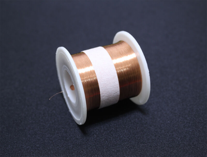 Enameled wire 100g 44AWG, 0.05mm, 5700m Enameled copper wire, Magnet Wire