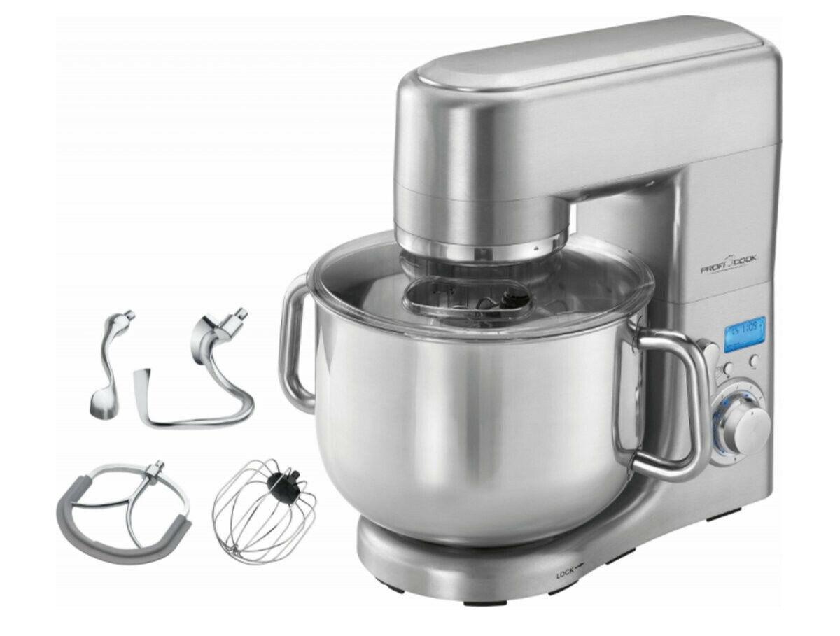 ProfiCook PC-KM 1096 1500W Küchenmaschine - 10l - Aluminium-Druckguss-Gehäuse