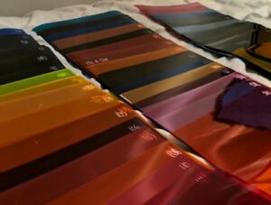 178 x 255mm Colour Gel Lee Sheets (JOB LOT ON OFFER)