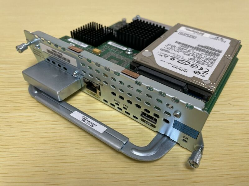 Cisco Unity Express Network Module NME-CUE w/ 160GB HD