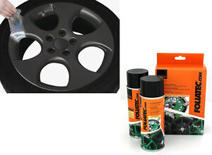 2 bombes peinture jantes alu foliatec ft2062 plastique spray film gris anthracit ebay. Black Bedroom Furniture Sets. Home Design Ideas