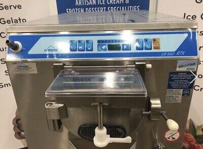 New Carpigiani Lb 502 Rtx Batch Freezer Lb 502 Air Cooled