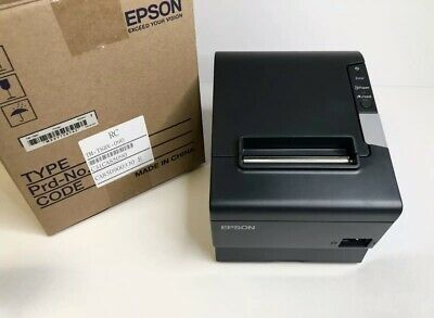 Epson Tm-t88v M244a Thermal Pos Receipt Printer Powered Usb Dark Gray New