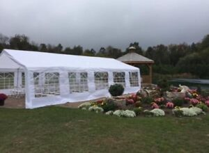 Tent rentals! Rent tables and chairs