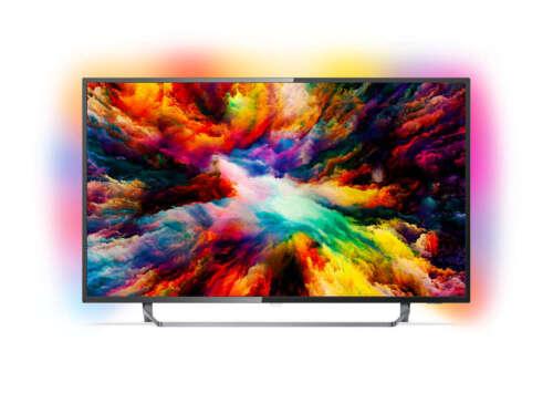 PHILIPS Fernseher 50 Zoll/126 cm 4K UHD LED Smart Android TV Ambilight NEU