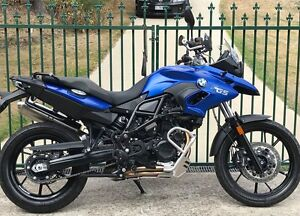 BMW F700GS, 800cc,low km, may trade another road bike,$10,900. Youngtown Launceston Area Preview