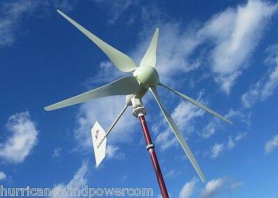 Hurricane Xp 24v Wind Turbine Generator Kit 1000 Watt Max 1500 Watts Sealed Unit