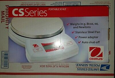 New In Box Ohaus Cs Series - Cs5000 Portable Balance Scale