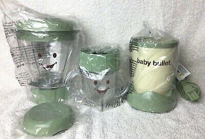 Magic Bullet Baby Food Blender Power Base Motor Blades BatchBowl Short Cup Lid