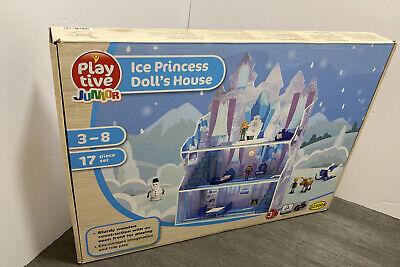 Dolls House Playtive Junior Ice Princess Dolls House Girls 17 piece Set
