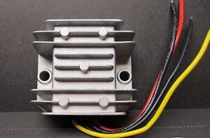 ELECTRONIC Dash gauge voltage reducer sealed 12v to 6v better than RESISTOR 5A !
