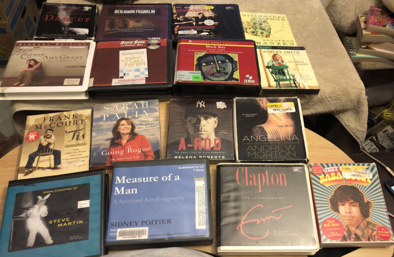 Auto Biography/Biography Audio Cd Book Lot 28