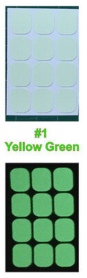 rk sticker for Light Switch Button 1Set 12x switch button  (Glow In The Dark Buttons)