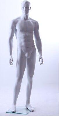 White Matte Male Mannequin