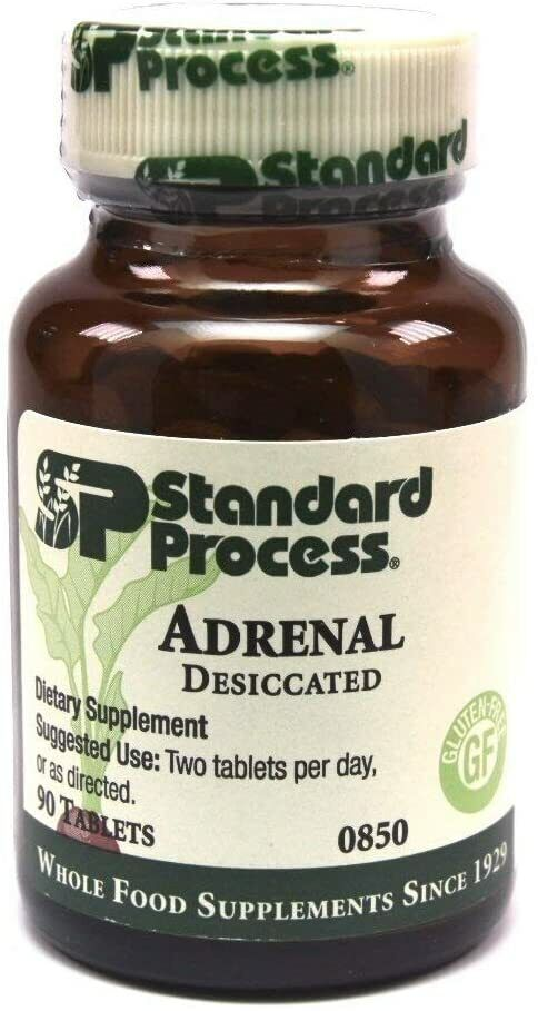 Standard Process - Adrenal Desiccated 90 tablets