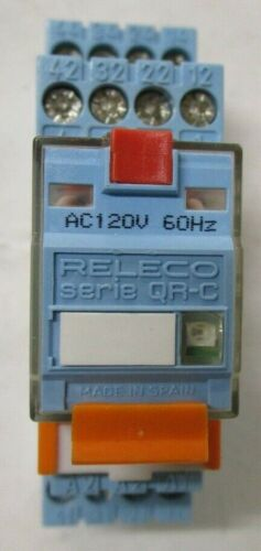 Releco Serie QR-C Ice Cube Plus Relay with S9-M Socket