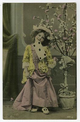 C 1910 Child Children PRETTY YOUNG GIRL Photo Postcard - $9.99