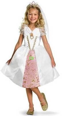 Nwt-Toddler Mädchen Disney Tangled Rapunzel Prinzessin 3 Stück Halloween Kostüm