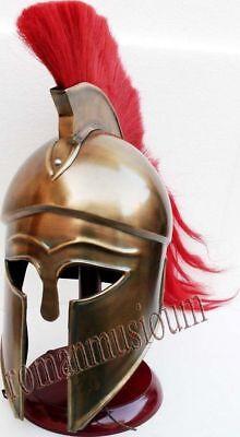 Römisch-griechischer korinthischer Helm Mittelalter Hollywood Kostüm Rüstung - Griechischen Helm Kostüme